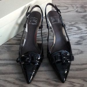 BURBERRY Quilted Patent Leather Size 6.5